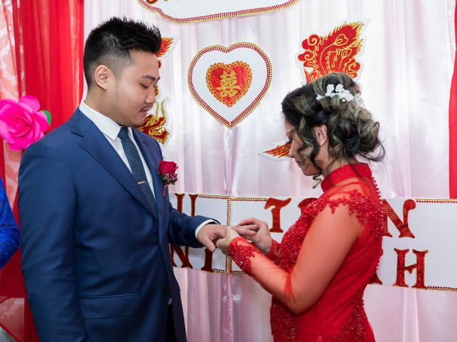 Trinh and Vince's Wedding in Des Plaines, Illinois 75