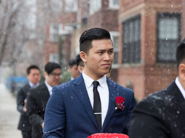 Trinh and Vince's Wedding in Des Plaines, Illinois 86