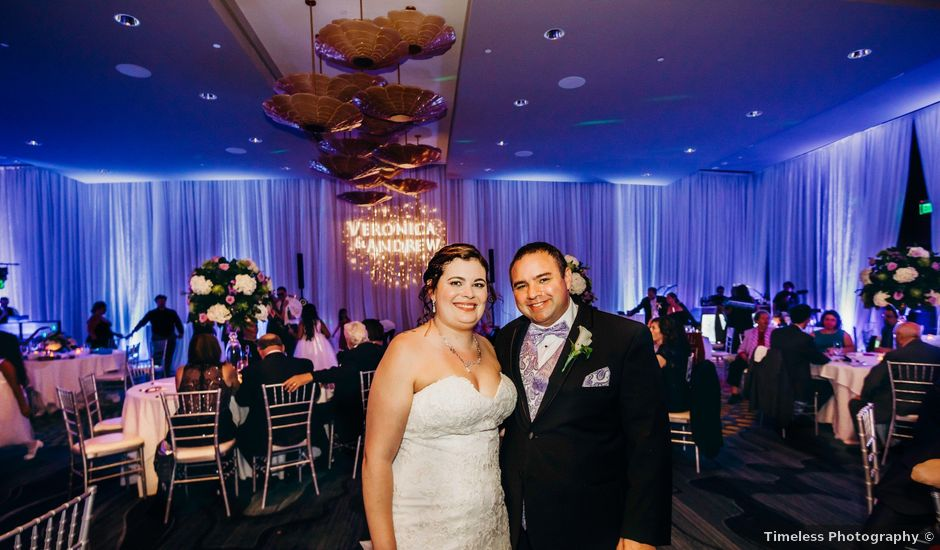 Andrew and Veronica's Wedding in Clearwater Beach, Florida