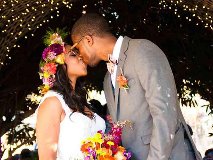 The wedding of Ricky and Cristina