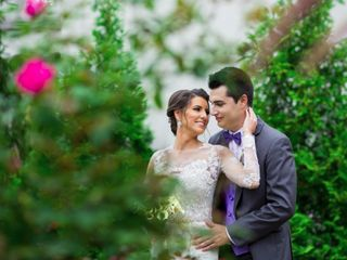The wedding of Christine and Ben