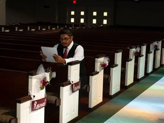 The wedding of Rebecca  and Fernando  1