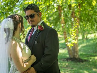 The wedding of Rebecca  and Fernando