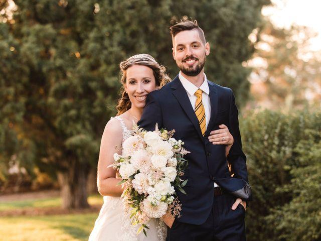The wedding of Micaela and Shane