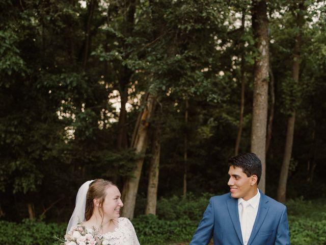 Abbi and Carlos's Wedding in Vinton, Virginia 13