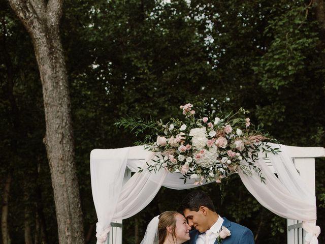 Abbi and Carlos's Wedding in Vinton, Virginia 22