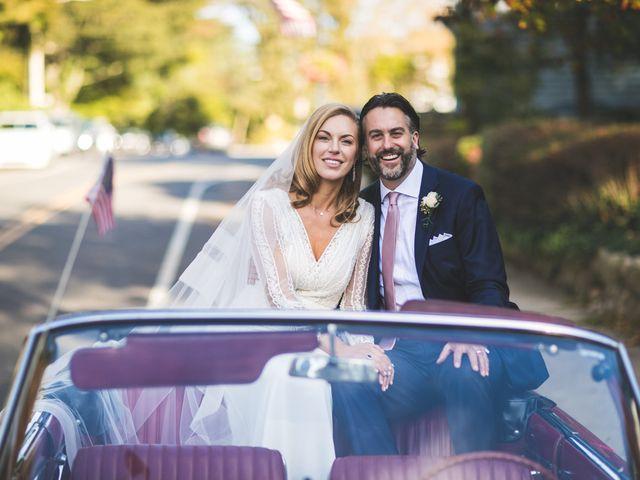 Scott and Kathleen's Wedding in Sea Cliff, New York 1
