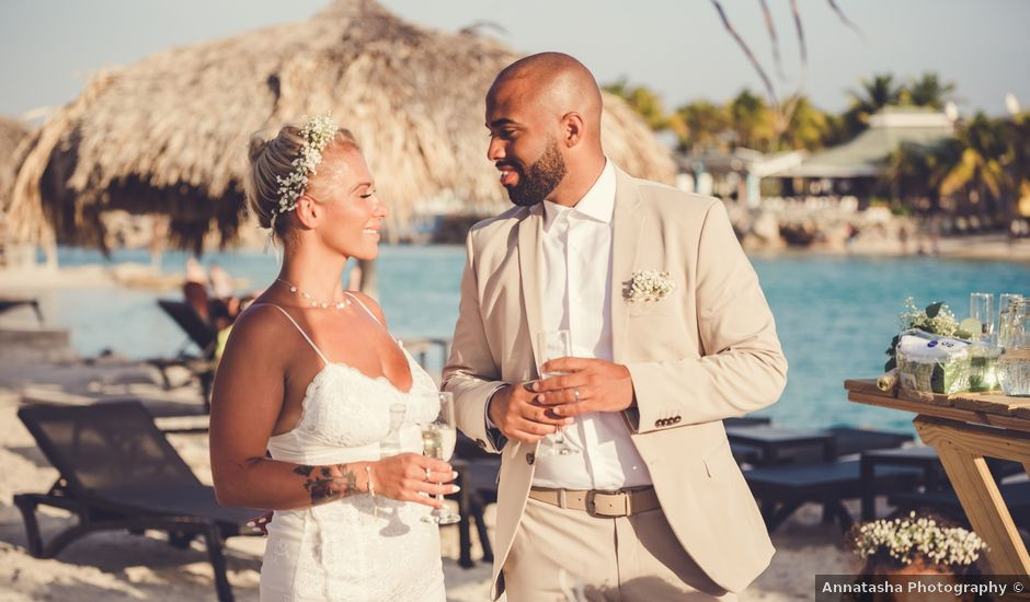 Anna and Ray's Wedding in Willemstad, Curacao