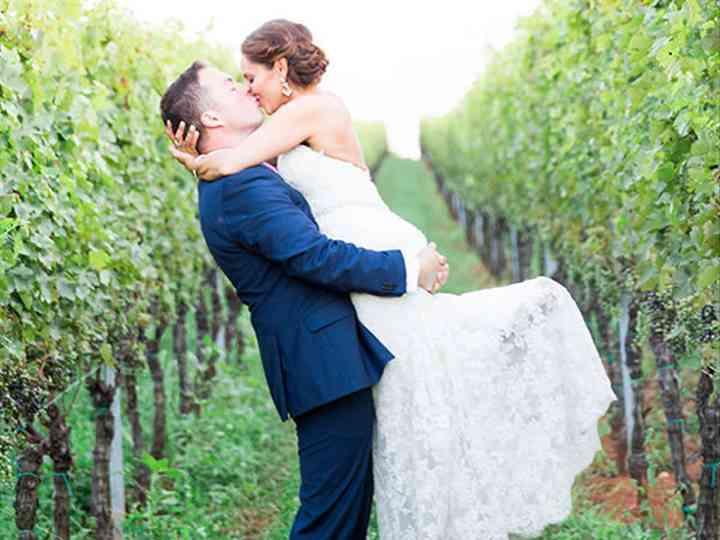 The wedding of Brendan and Christina