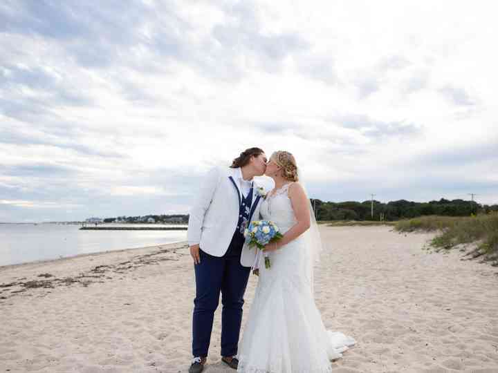 The wedding of Samantha and Rachel