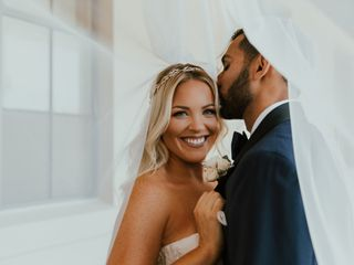 The wedding of Shaina and Hamed