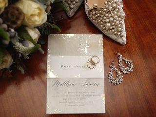 The wedding of Lauren and Matthew 1