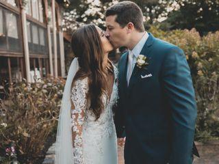 The wedding of Samantha and Jonathan
