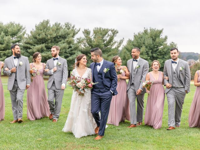 Charles and Alyssa's Wedding in Ijamsville, Maryland 34