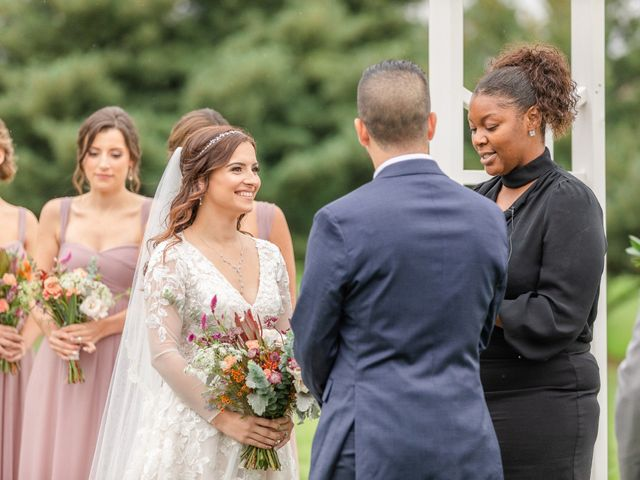 Charles and Alyssa's Wedding in Ijamsville, Maryland 42