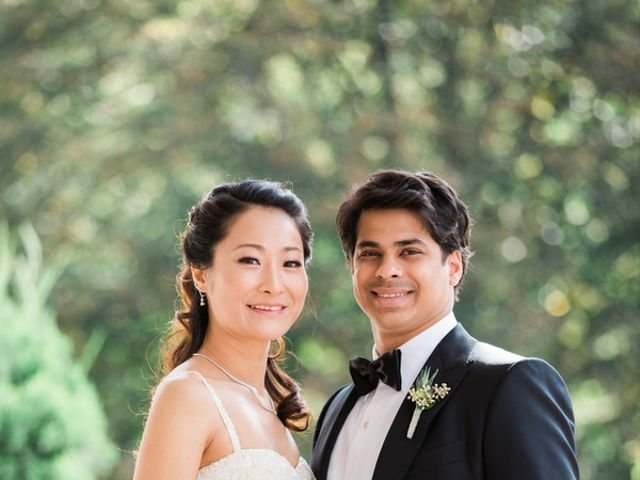 The wedding of Shree and Anna