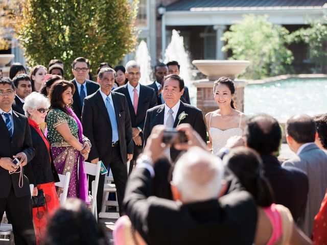 Anna and Shree's wedding in New Jersey 12