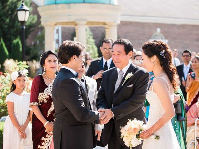 Anna and Shree's wedding in New Jersey 13