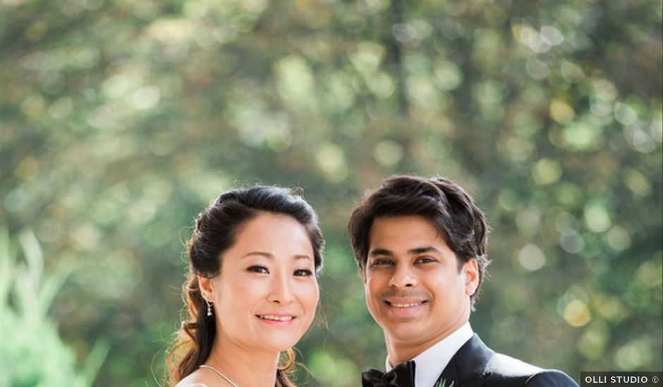 Anna and Shree's wedding in New Jersey