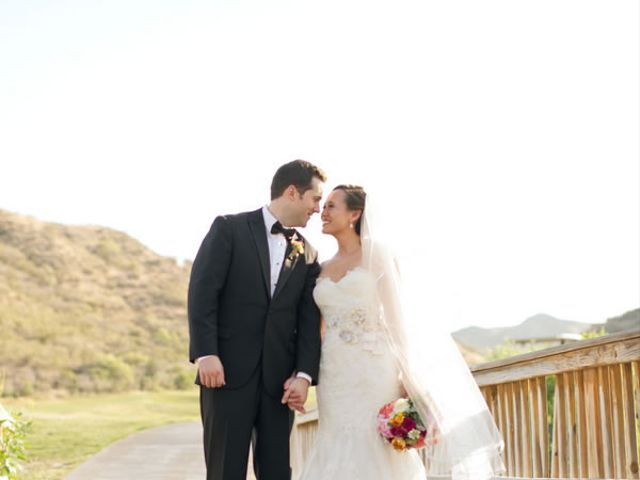 The wedding of Ross and Lillian