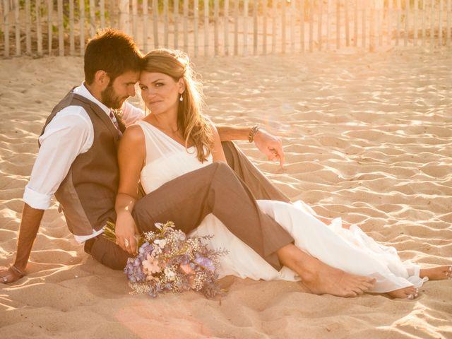 The wedding of Adam and Christa