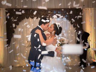 The wedding of Esthefanie and Vilomar