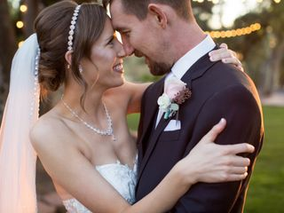 The wedding of Candice and Aaron