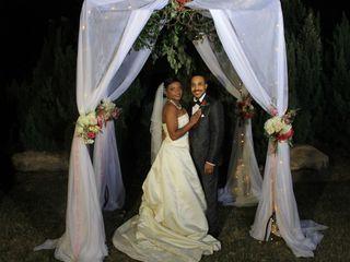 The wedding of Tarsha and Gregory