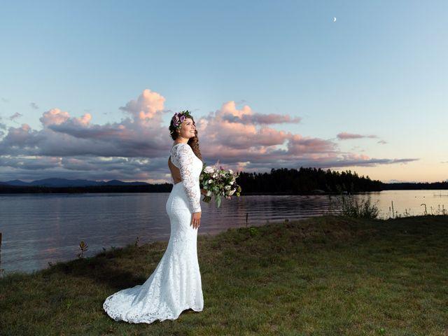 Matthew and Charissa's Wedding in Saranac Lake, Vermont 2