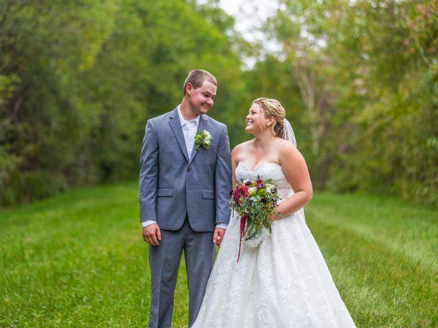 The wedding of Nathan and Jenna