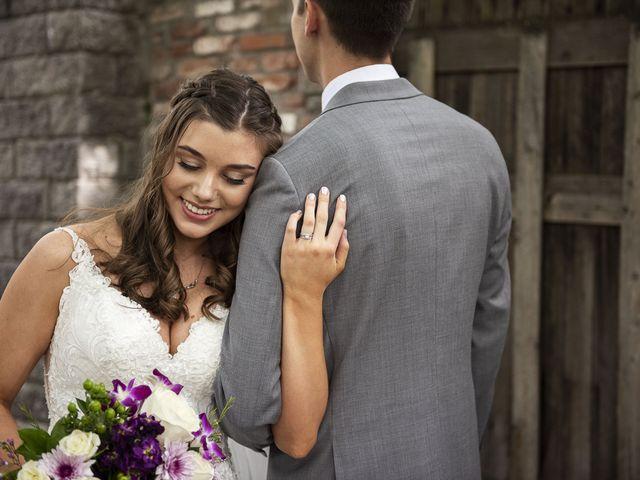 The wedding of Garrett and Sarah