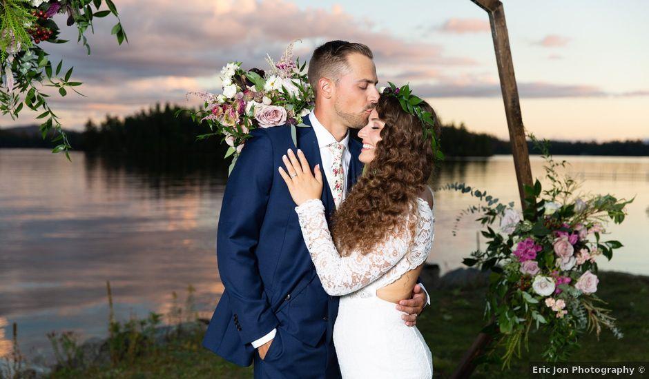 Matthew and Charissa's Wedding in Saranac Lake, Vermont