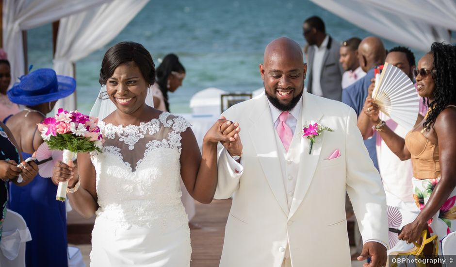 Ernis and Michael's Wedding in Montego Bay, Jamaica