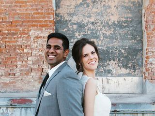 The wedding of Ashwin and Amanda 1