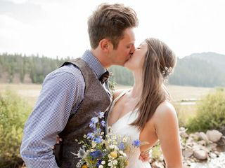 The wedding of Garrett and Janie
