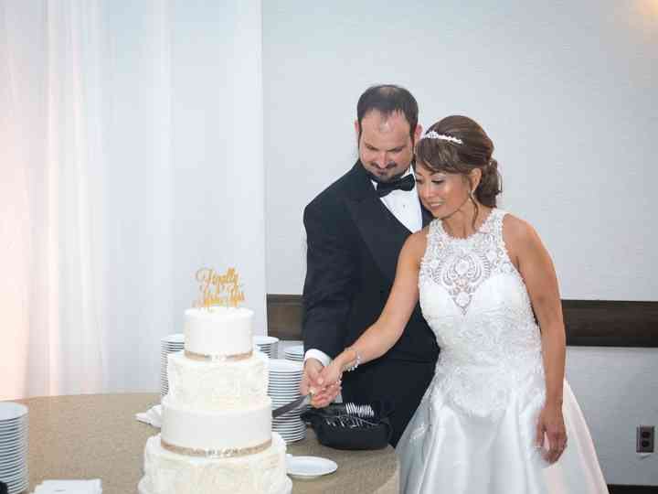 The wedding of Mary and Nick