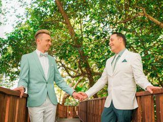 The wedding of Darin and Craig