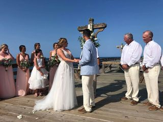 The wedding of Kathryn and Cody