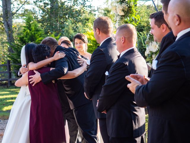 Mike and Xixi's Wedding in Asheville, North Carolina 9