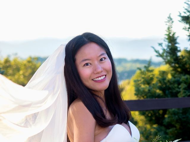 Mike and Xixi's Wedding in Asheville, North Carolina 11