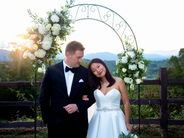 Mike and Xixi's Wedding in Asheville, North Carolina 2