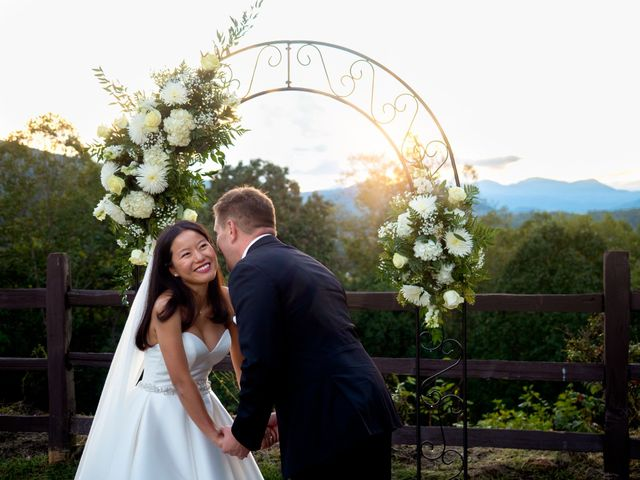 Mike and Xixi's Wedding in Asheville, North Carolina 3