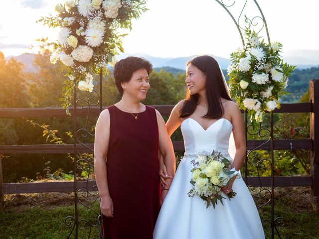 Mike and Xixi's Wedding in Asheville, North Carolina 12