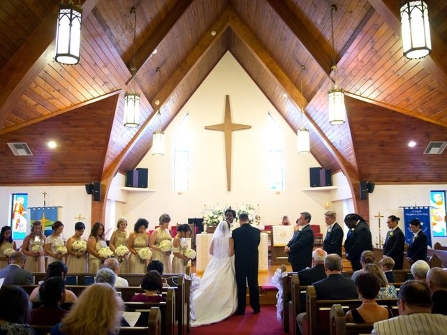 Nick and Mary's Wedding in Greenville, South Carolina 12