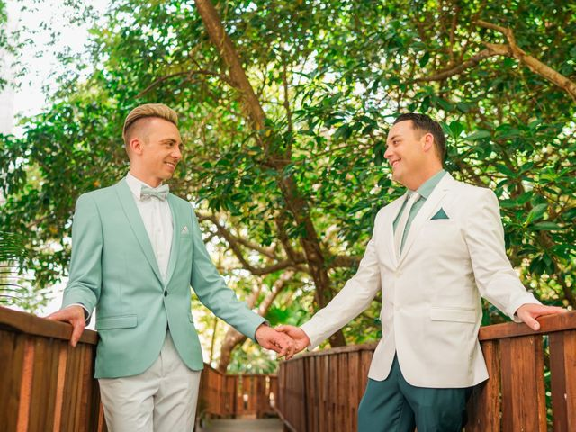The wedding of Darin and Craig