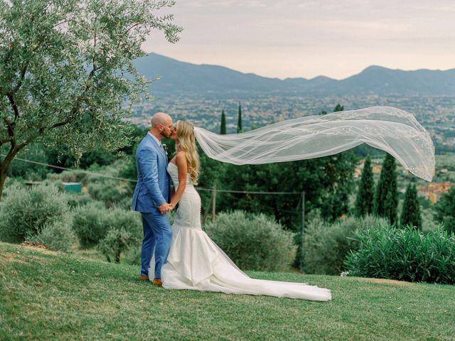 The wedding of Peri and Sean