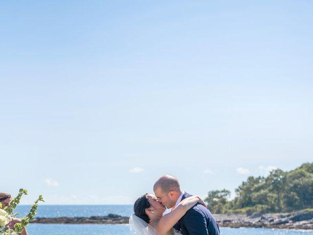Nolan and Kaitlin's Wedding in York Beach, Maine 4