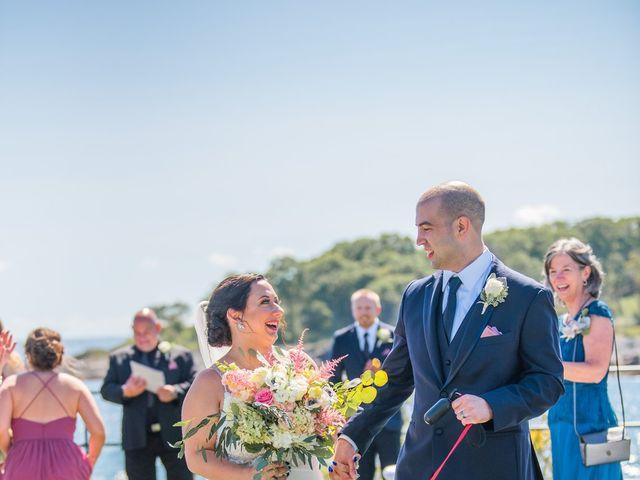Nolan and Kaitlin's Wedding in York Beach, Maine 5
