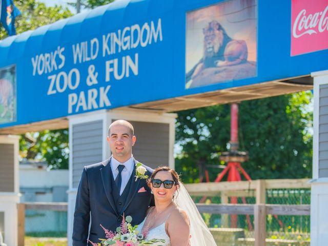 Nolan and Kaitlin's Wedding in York Beach, Maine 7