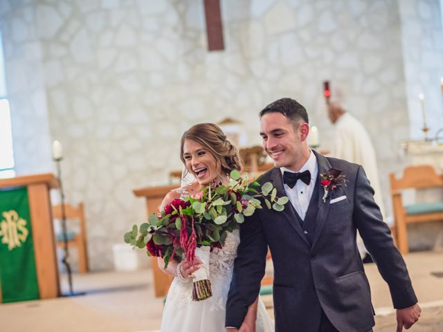 Aaron and Allie's Wedding in San Antonio, Texas 18